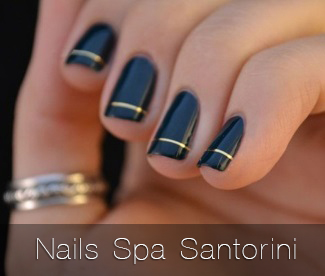 nails spa santorini